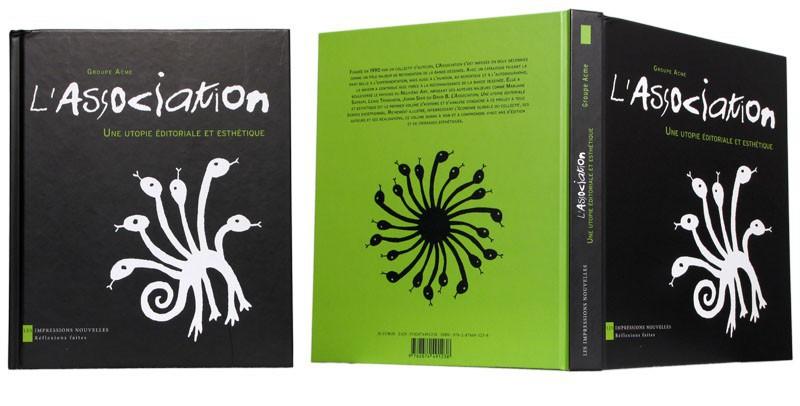 L'Association - Couverture et dos - (c) Stripologie.com