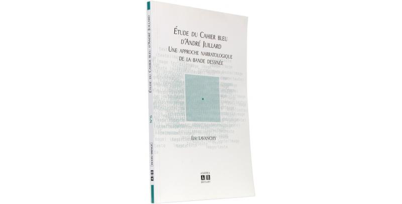 Étude du Cahier bleu d'André Juillard - Couverture - (c) Stripologie.com