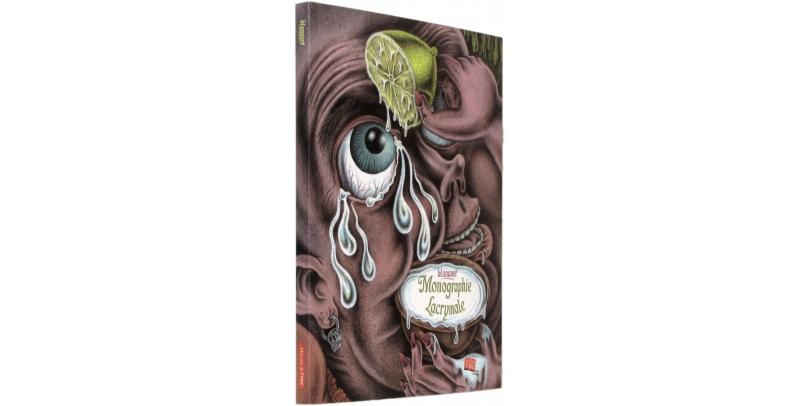 Monographie lacrymale - Couverture - (c) Stripologie.com