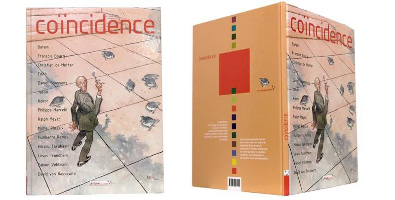 Coïncidence - Couverture et dos - (c) Stripologie.com