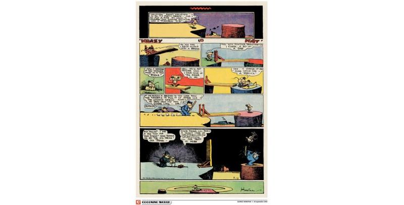 "Isolation sweet ""isolation"", détail - George Herriman (c) Coconino & Co / George Herriman / Stripologie.com"