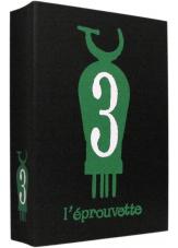 L'éprouvette n° 3 - Couverture - (c) Stripologie.com
