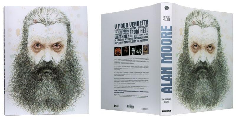 Alan Moore Biographie Illustrée - Couverture dépliée - (c) Stripologie.com