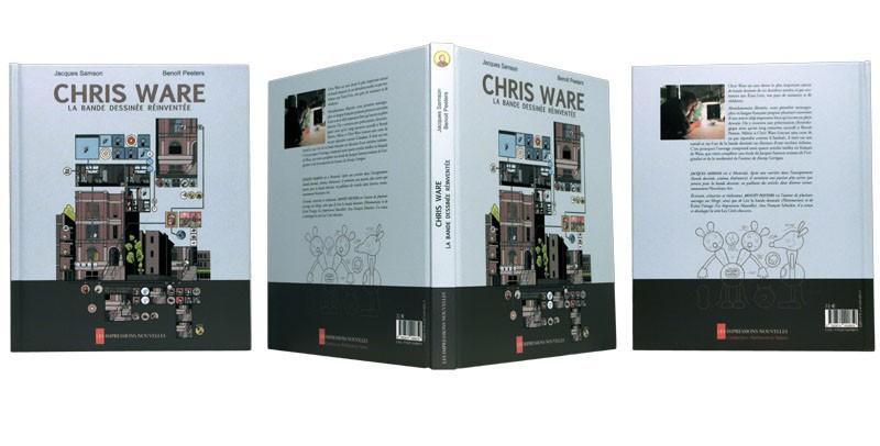 Chris Ware, la bande dessinée réinventée - Couverture et dos - (c) Stripologie.com