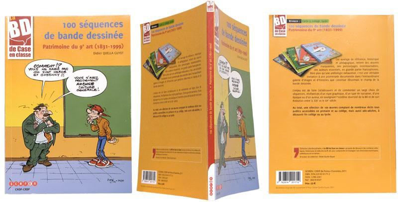 100 séquences de bande dessinée - Couverture et dos - (c) Stripologie.com
