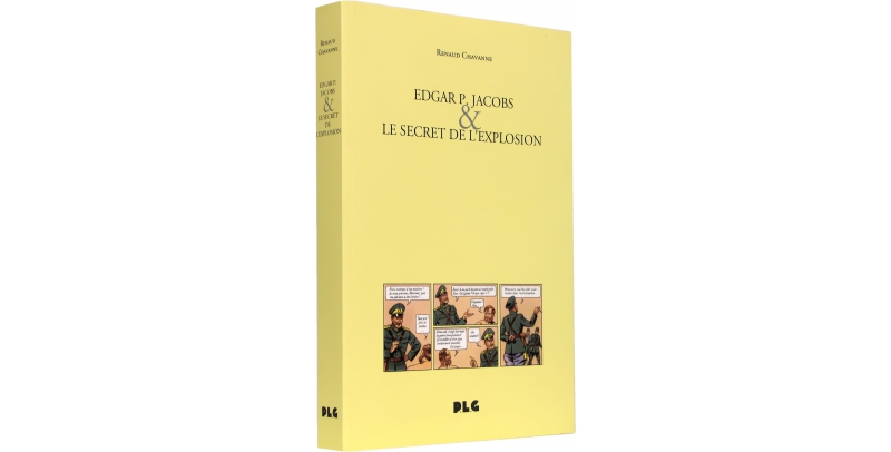 Edgar P. Jacobs et le Secret de l'Explosion - Couverture - (c) Stripologie.com