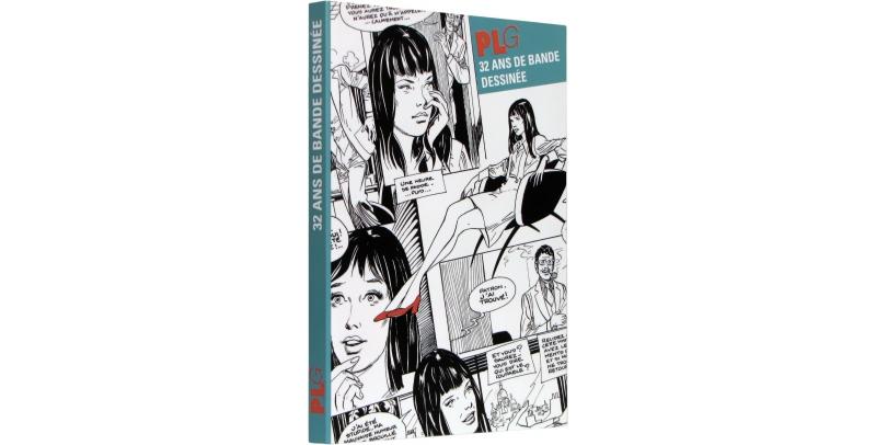 PLG, 32 ans de bande dessinée - Couverture - (c) Stripologie.com