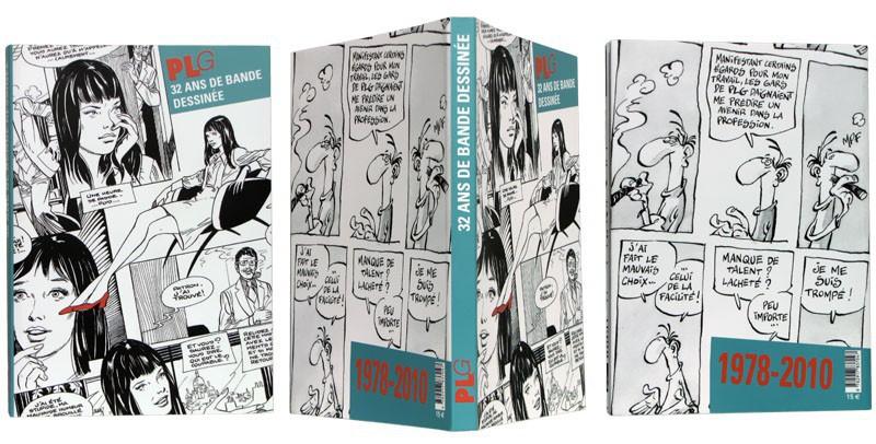 PLG, 32 ans de bande dessinée - Couverture et dos - (c) Stripologie.com