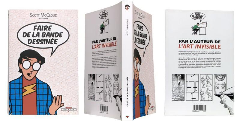 Faire de la bande dessinée - Couverture et dos - (c) Stripologie.com