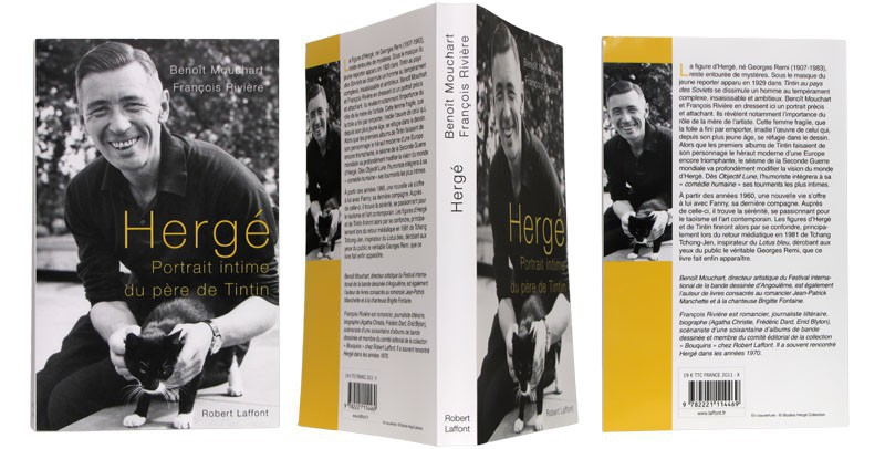 Hergé portrait intime - Couverture et dos - (c) Stripologie.com