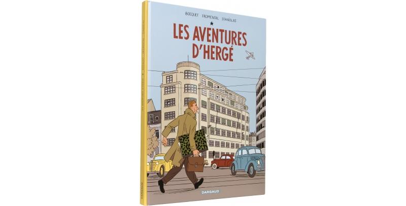Les aventures d'Hergé - Couverture - (c) Stripologie.com