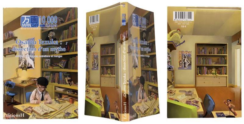 Manga 10 000 images - numéro 2 - Osamu Tezuka - Couverture et dos - (c) Stripologie.com