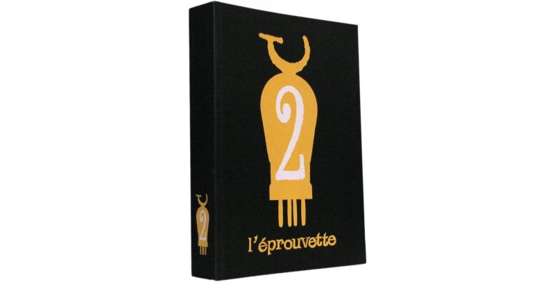 L'éprouvette n° 2 - Couverture - (c) Stripologie.com