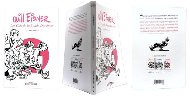 Les Clés de la Bande Dessinée n°3 - Couverture et dos - (c) Stripologie.com
