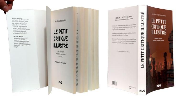 Le Petit Critique illustré - Couverture dépliée - (c) Stripologie.com