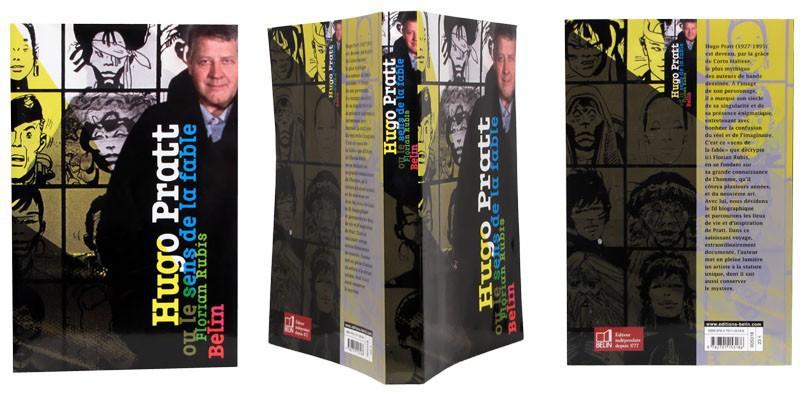 Hugo Pratt, le sens de la fable - Couverture dépliée - (c) Stripologie.com