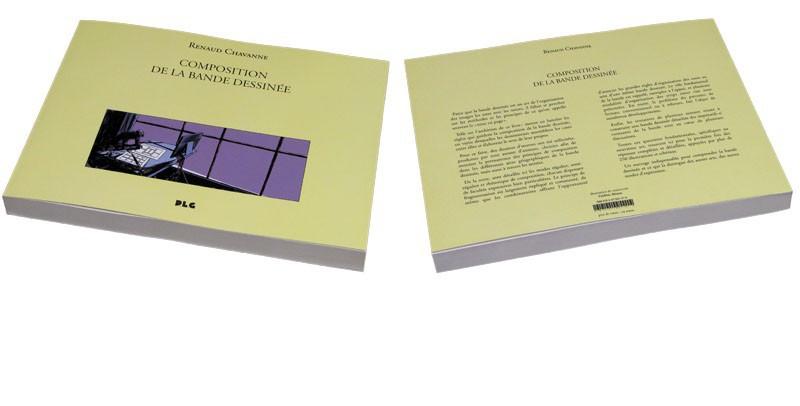 Composition de la bande dessinée - Couverture et 4e de Couv - (c) Stripologie.com