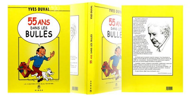 55 ans dans les bulles - Couverture dépliée - (c) Stripologie.com