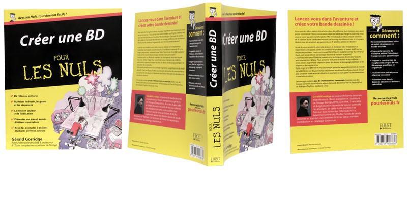Créer une BD - Couverture dépliée - (c) Stripologie.com