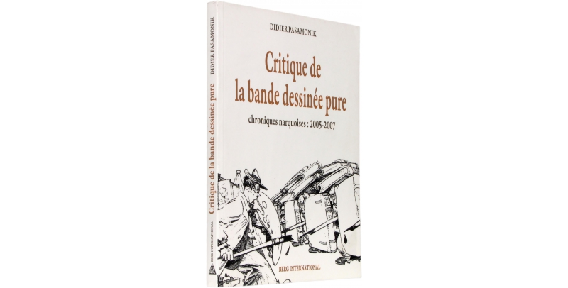 Critique de la bande dessinée pure - Couverture - (c) Stripologie.com