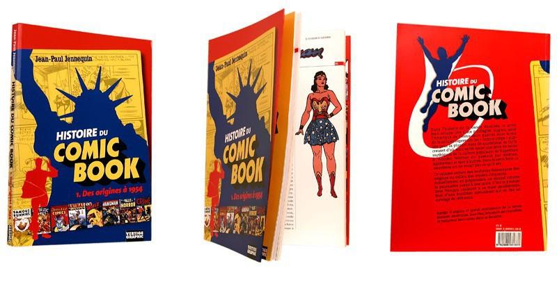 Histoire du Comic book - 1ère et 4e de Couv - (c) Stripologie.com / Data Factory
