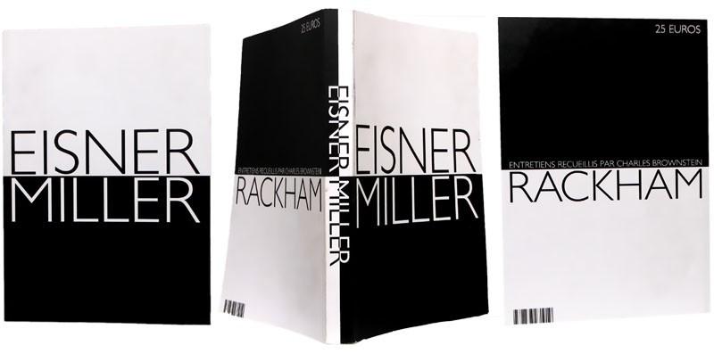 Eisner Miller - Couverture, tranche et 4e de couverture - (c) Stripologie.com