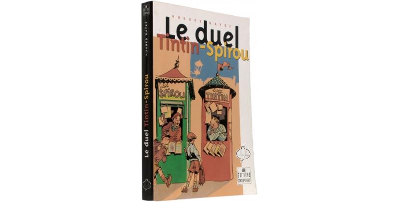 Le duel Tintin Spirou - Couverture - (c) Stripologie.com