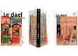 Le duel Tintin Spirou - Couverture, dos et 4e de couverture - (c) Stripologie.com