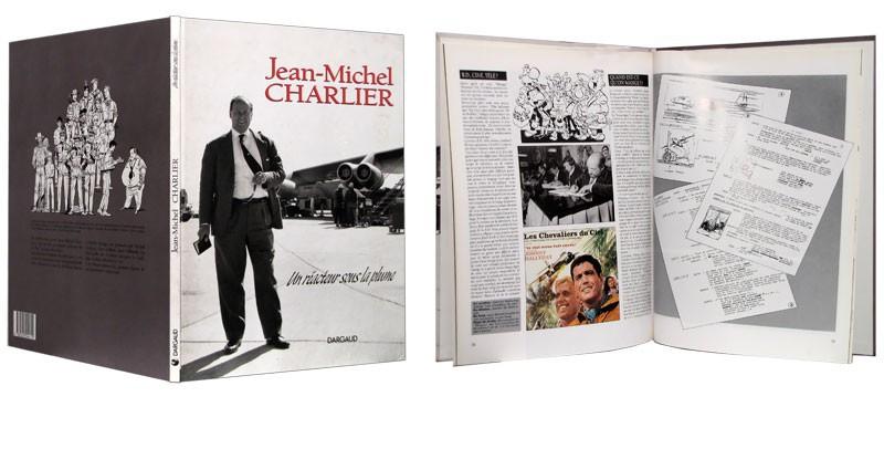 Jean-Michel Charlier - Couverture dépliée - (c) Stripologie.com