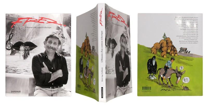 Fred Histoire d'un conteur éclectique - Couverture et dos - (c) Stripologie.com
