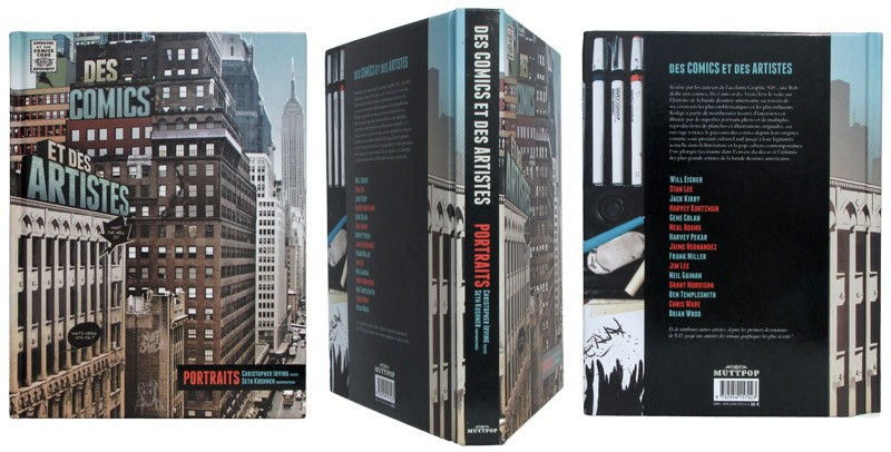 Des comics et des artistes - Couverture et dos - (c) Stripologie.com