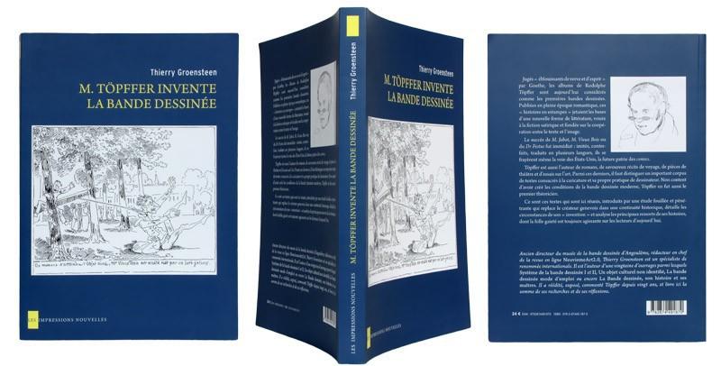 M. Töpffer invente la bande dessinée - Couverture et dos - (c) Stripologie.com