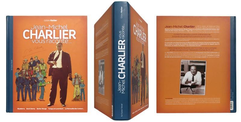 Jean-Michel Charlier vous raconte... - Couverture et dos - (c) Stripologie.com
