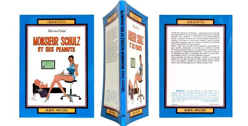 Monsieur Schulz et ses Peanuts - Couverture et dos - (c) Stripologie.com