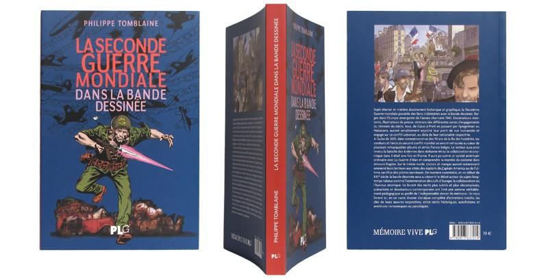La seconde guerre mondiale dans la bande dessinée - Couverture et dos - (c) Stripologie.com