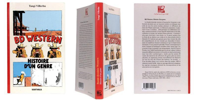 BD Western - Couverture et dos - (c) Stripologie.com