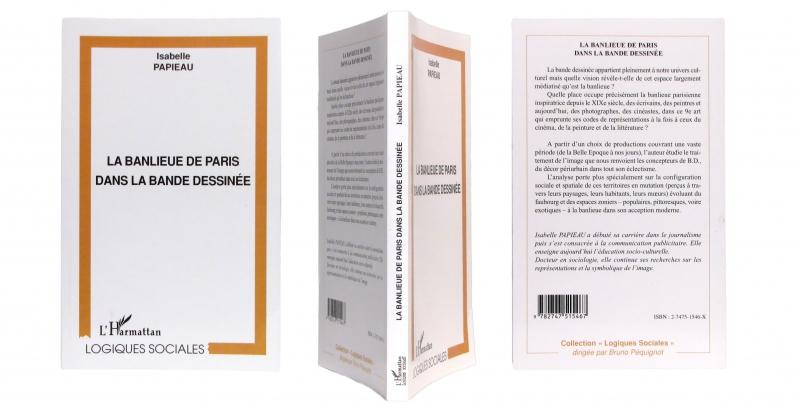 La banlieue de Paris dans la bande dessinée - Couverture et dos - (c) Stripologie.com
