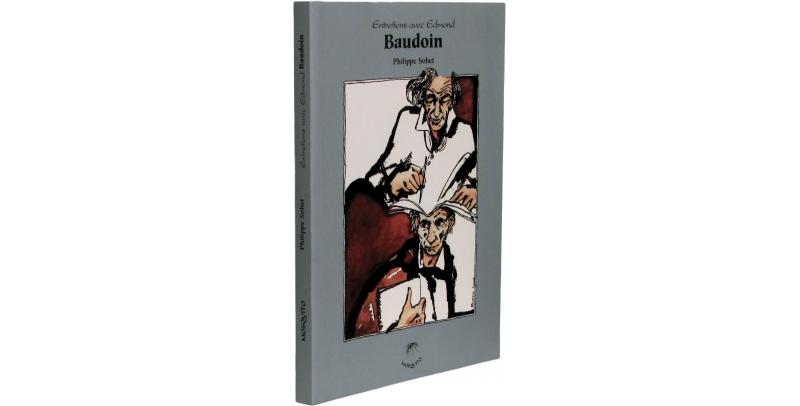 Entretiens avec Edmond Baudoin - Couverture - (c) Stripologie.com