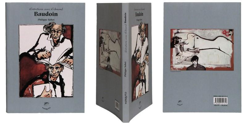 Entretiens avec Edmond Baudoin - Couverture et dos - (c) Stripologie.com