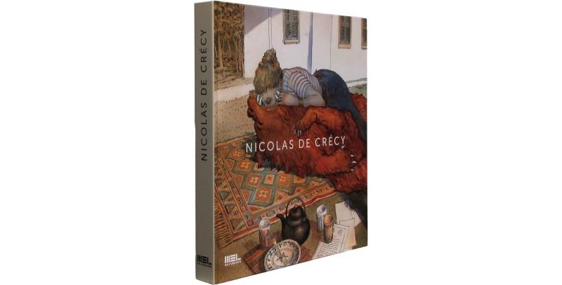 Nicolas de Crécy - Couverture - (c) Stripologie.com