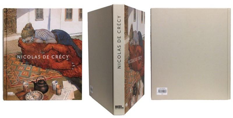 Nicolas de Crécy - Couverture et dos - (c) Stripologie.com