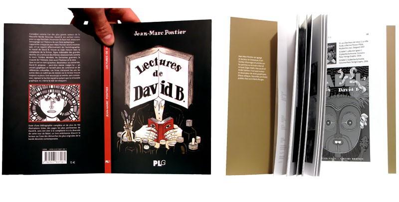 Lectures de David B. - Couverture et pages intérieures - (c) Stripologie.com