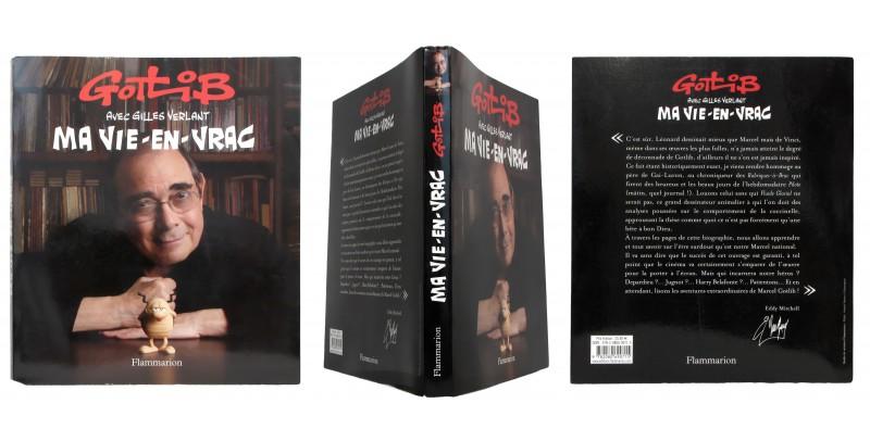 Sur les traces de Marcel Gotlib - Couverture et dos - (c) Stripologie.com