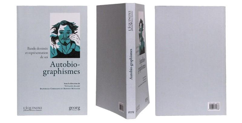 Autobio-graphismes - Couverture et dos - (c) Stripologie.com