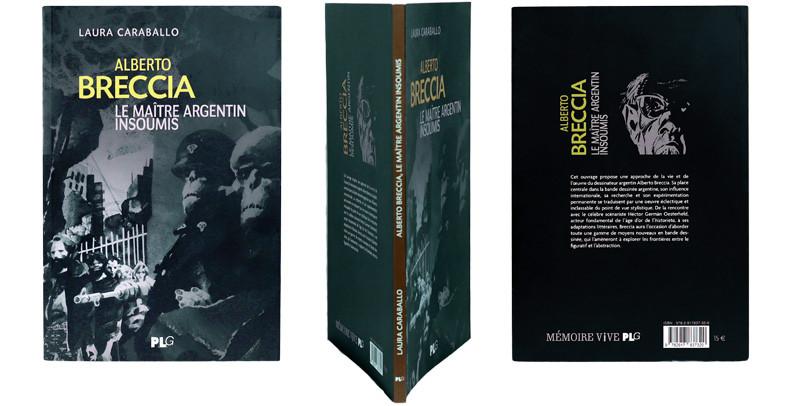 Alberto Breccia - Couverture et dos - (c) Stripologie.com