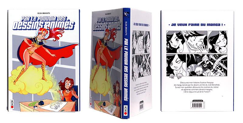 Par le pouvoir des dessins animés - Couverture et dos - (c) Stripologie.com